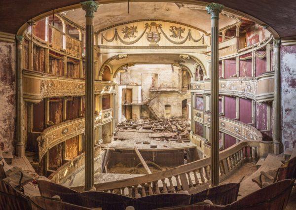 a theatre in ruins